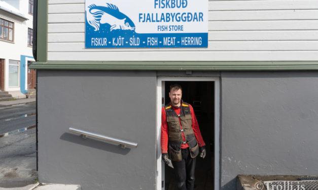 Framkvæmdir í Fiskibúð Fjallabyggðar