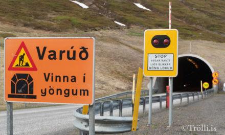 Tafir í Héðinsfjarðargöngum