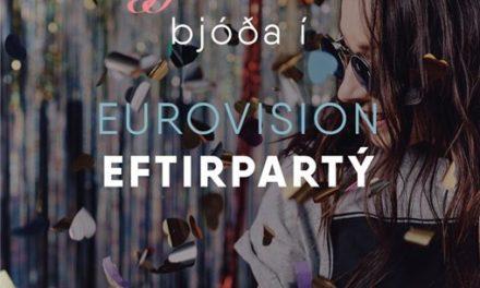 Eurovision eftirpartý á Kaffi Rauðku