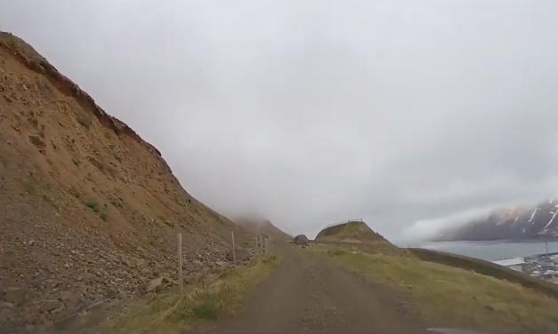 Keyrði upp í Hvanneyrarskál 1. maí