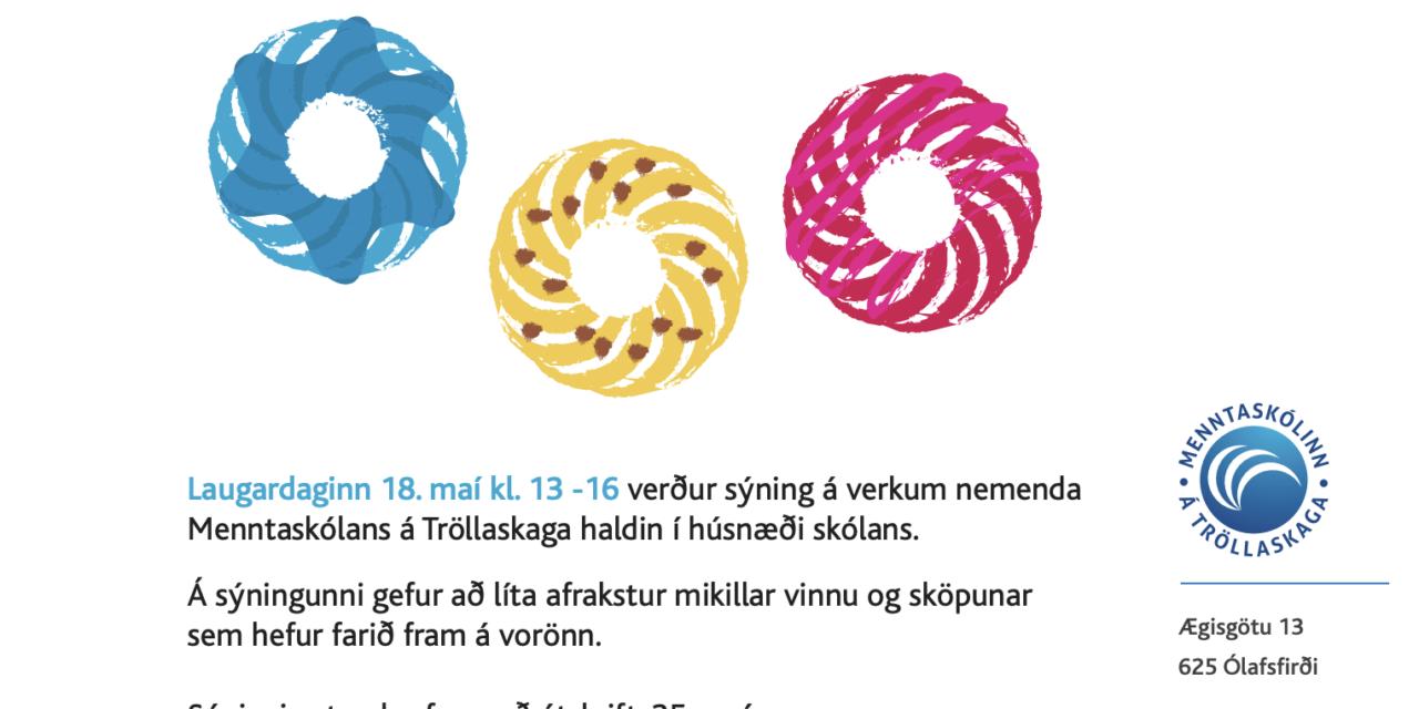 Vorsýning Menntaskólans á Tröllaskaga