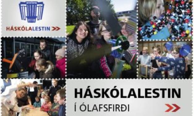 Vísindaveisla í Fjallabyggð – Háskólalestin í Ólafsfirði