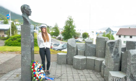 Lýðveldið Ísland fagnar 75 ára afmæli