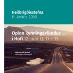 Ný heilbrigðisstefna kynnt á opnum fundi á Akureyri í dag