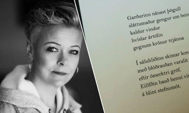 Hildur Eir Bolladóttir verður á Ljóðasetrinu í dag