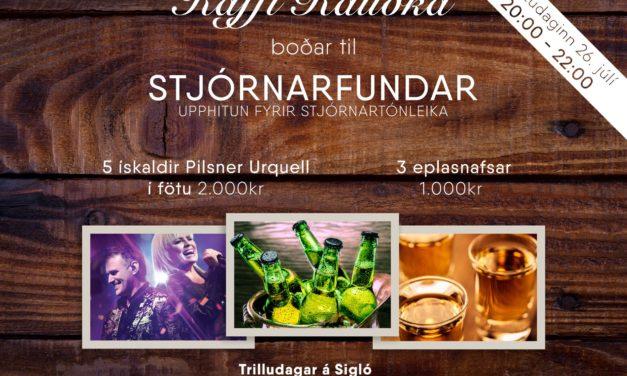 Stjórnarfundur – Fyrirpartý á Kaffi Rauðku