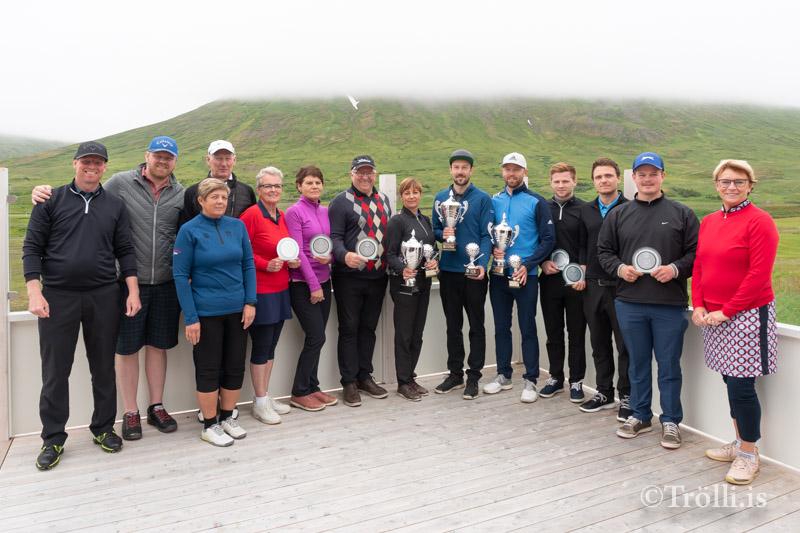 Nýtt vallarmet á Meistaramóti Golfklúbbs Siglufjarðar