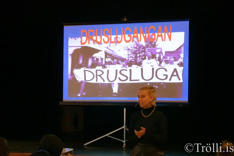 Druslugangan á Akureyri