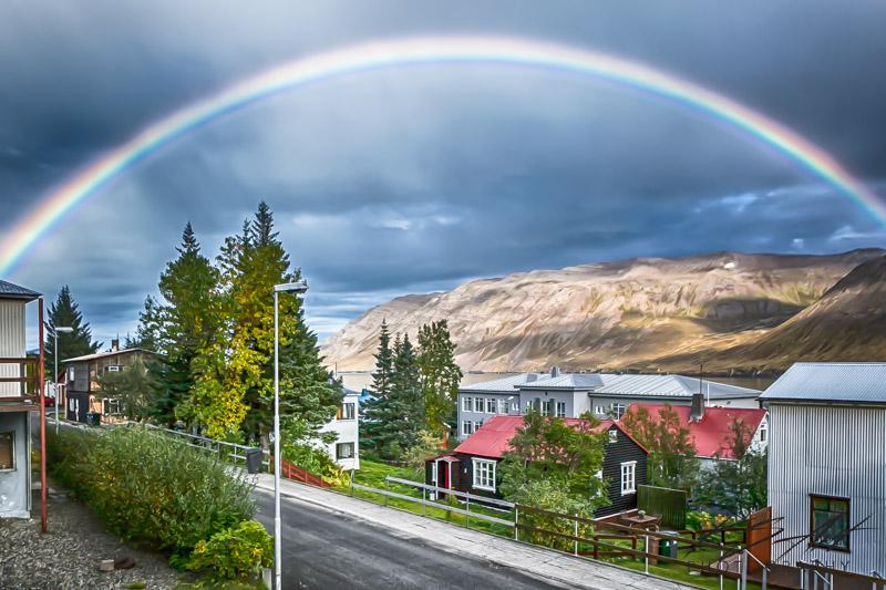 Hæglætisveður um land allt