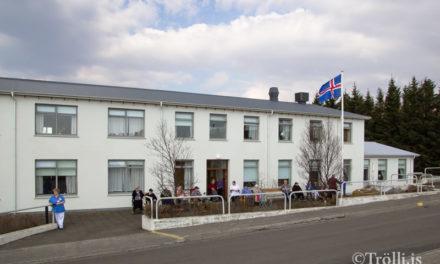 Þriðji elsti Íslendingurinn á Hvammstanga