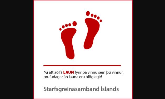Reynslutími / starfsþjálfun er líka vinna!