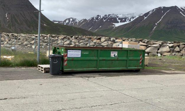 Gámar fyrir garðaúrgang í Fjallabyggð