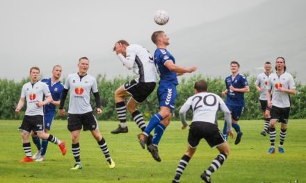 KF tekur á móti KV á Ólafsfjarðarvelli í dag