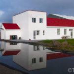 Skúlptúrgarður við Alþýðuhúsið á Siglufirði