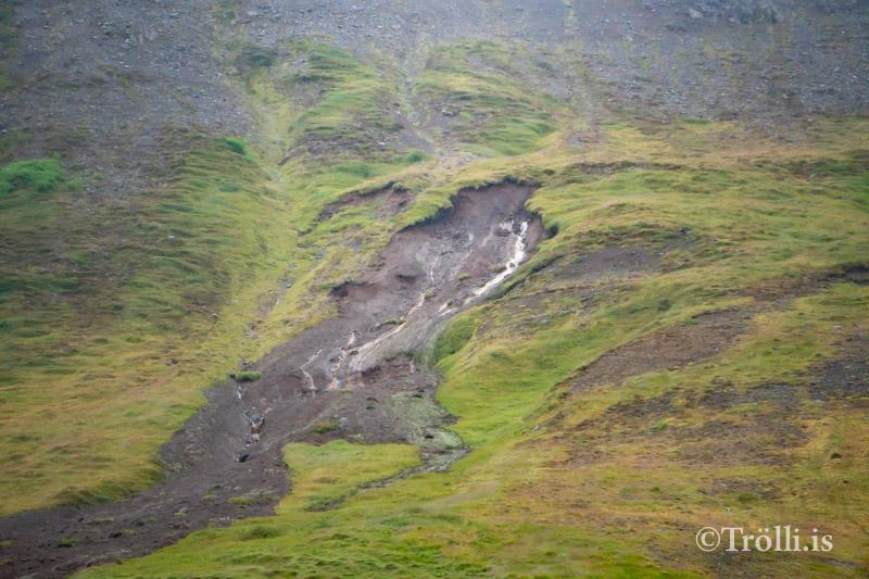 Aurskriður á Siglufirði