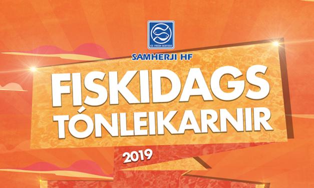Flytjendur á Fiskidagstónleikunum 2019