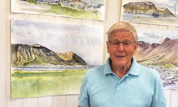 Fjallabyggð kaupir vatnslitamyndir á 450.000