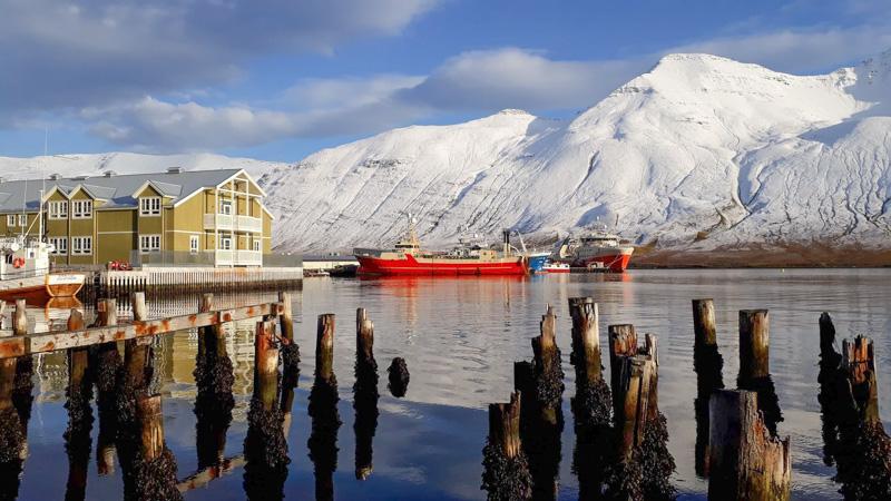 Hauststillur á Siglufirði