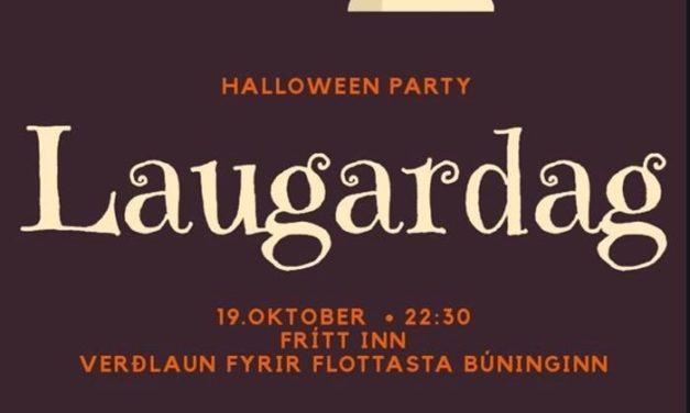 Halloween Partý hjá Höllinni Ólafsfirði