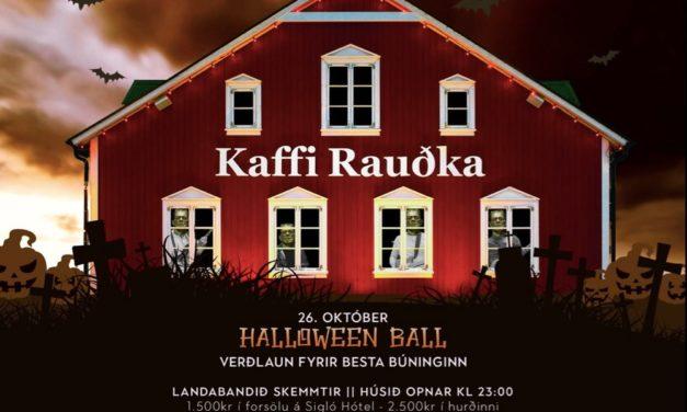 Halloween-ball á Kaffi Rauðku