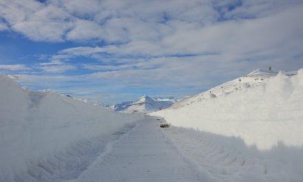 Snjómokstur hafinn í Dalvíkurbyggð