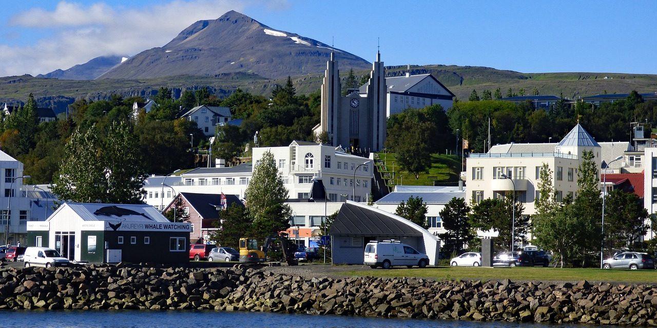 Mjög lítil úrkoma á Akureyri í nóvember