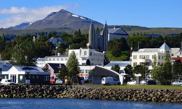 Breyting á akstursstefnu á Akureyri