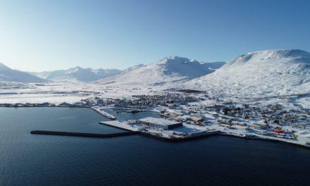 Austurgarður við Dalvíkurhöfn vígður í dag
