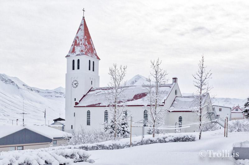 Barnastarf og aðventuhátíð í Siglufjarðarkirkju á morgun