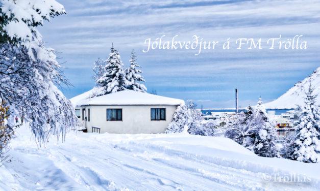 Jólakveðjur FM Trölla komnar í spilun