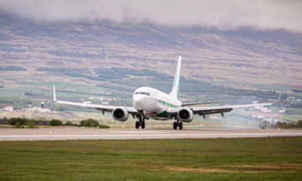 Millilandafarþegum um Akureyrarflugvöll fjölgar stöðugt
