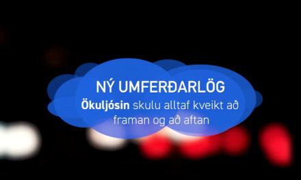 Ný umferðarlög á Íslandi