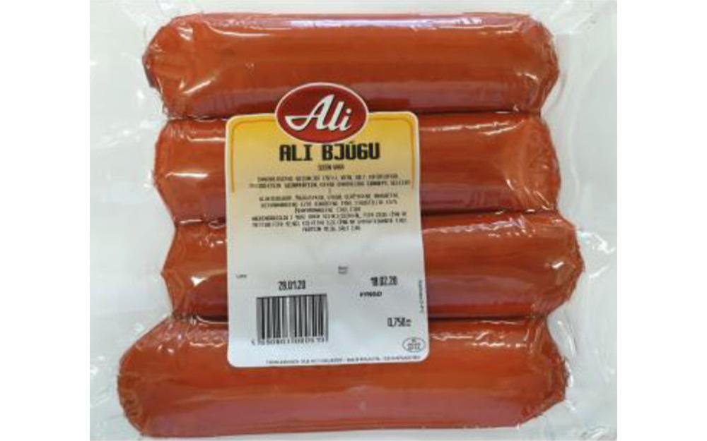 Aðskotahlutur í Ali bjúga