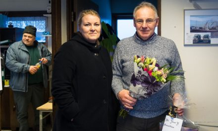Lætur af störfum eftir 21 ár við höfnina