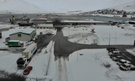 Mikið flóð á Siglufirði