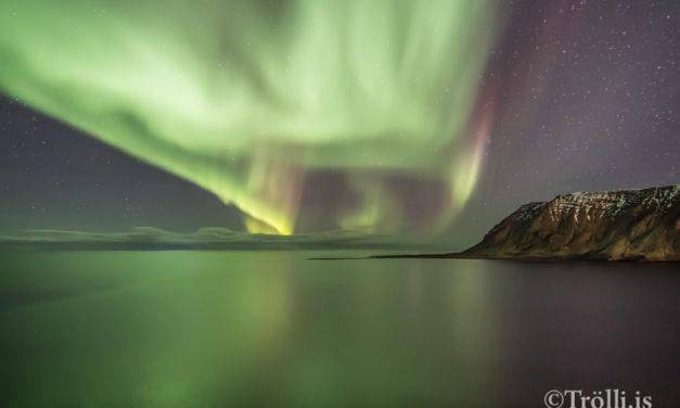 Mat á öldufari við niðurbrot á Siglunesi