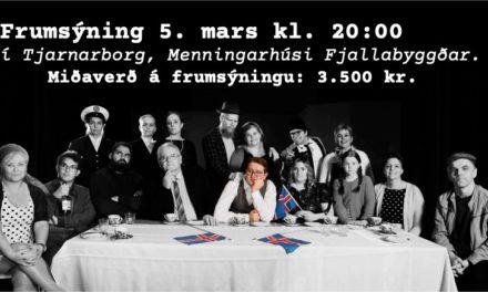 Leikfélag Fjallabyggðar sýnir söngleikinn Þrek og Tár í Tjarnarborg