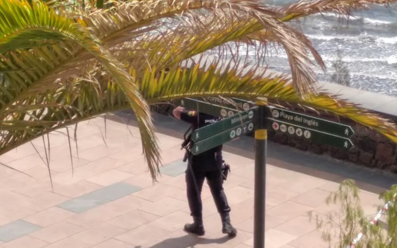 Útgöngubann á Kanarí – Íslendingar láta vel af sér