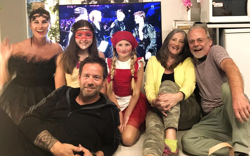 Siglfirskt Eurovision partý á Kanarí