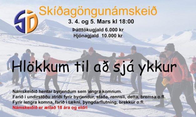 Skíðafélag Ólafsfjarðar býður upp á skíðagöngunámskeið 3.-5. mars
