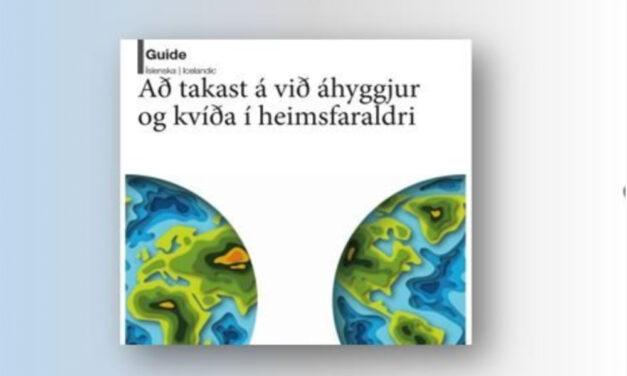 Að takast á við áhyggjur og kvíða í heimsfaraldri