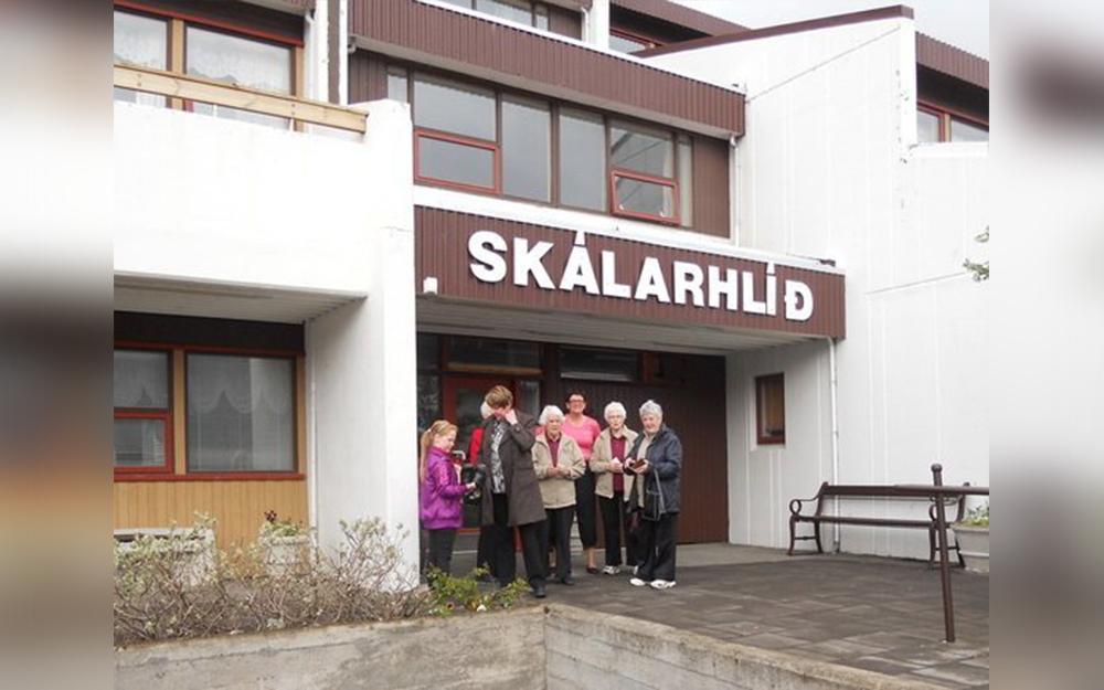 Félagsstarf aldraðra í Skálarhlíð fellur niður