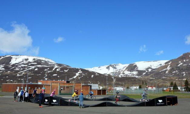 Reglur hjólabrautar á Dalvík