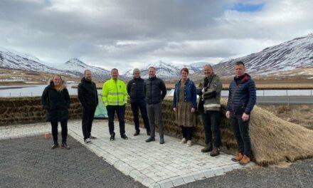 Ráðherraheimsókn í Friðland Svarfdæla