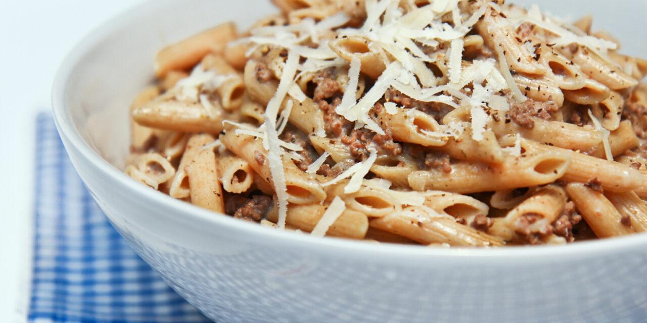 Ragù með pasta