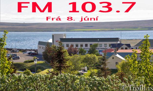 FM Trölli á Hvammstanga fer á 103.7 MHz