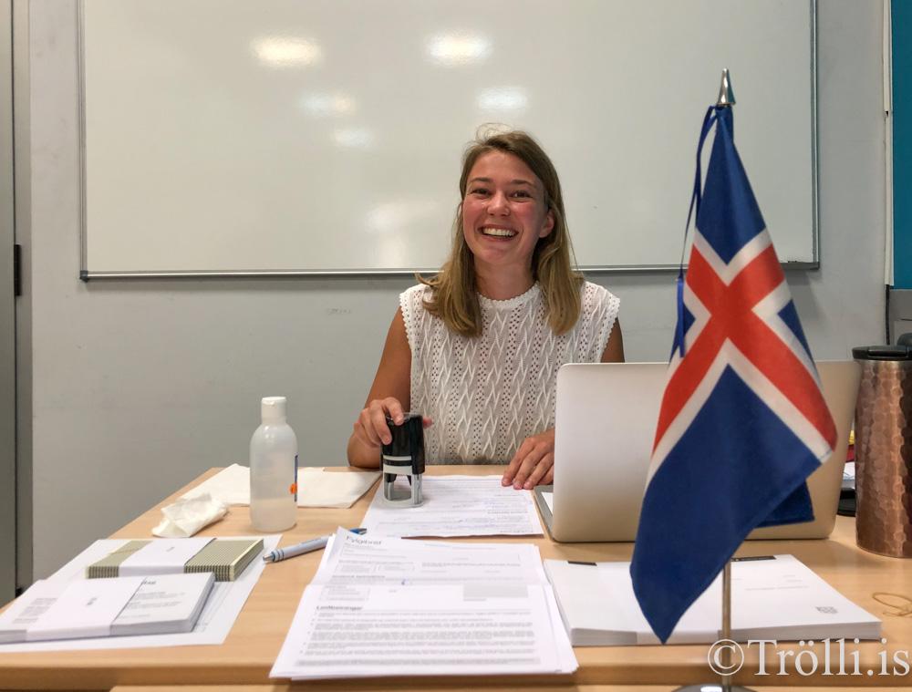 Lucie Jufer - frá Sviss