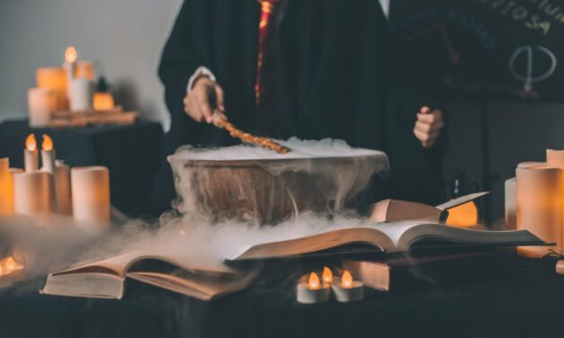 Potterhátíð á Amtsbókasafninu