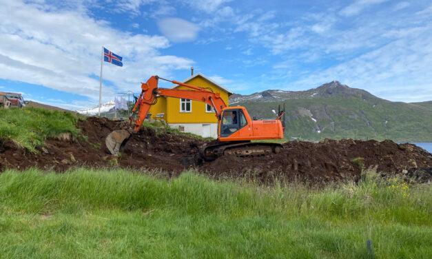 Byggt með myndarbrag í Djúpavík