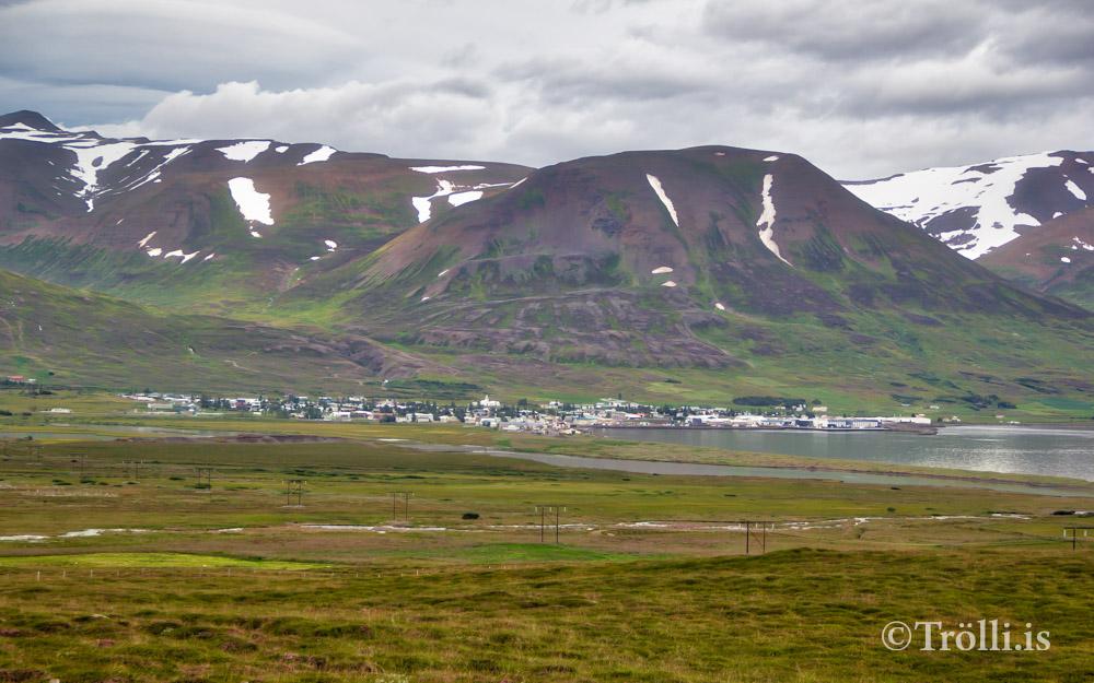 Fulltrúar Landsnets á ferð vegna Dalvíkurlínu 2